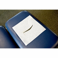 Graham Medical Chiropractic Headrest Papers in White