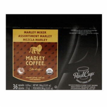 Marley Coffee Marley Mixer Organic Variety Pack, 36 ea