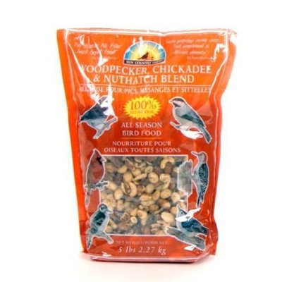 Sun Country Farms Woodpecker, Chickadee, Nuthatch Bird Seed 5 Lbs
