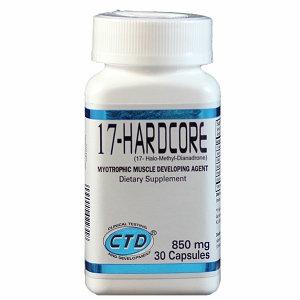 CTD Labs 17 Hardcore Myotrophic Muscle Developing 850mg