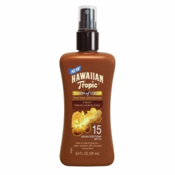 Hawaiian Tropic Touch of Color Pump Lotion, SPF 15, 6.8 fl oz