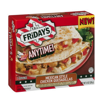 T.G.I. Friday's Anytime! Chicken Quesadillas Mexican Style  - 2 CT