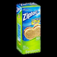 Ziploc Sandwich Bags - 40 CT