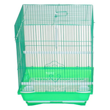 Yml Group YML Flat Top Parakeet Cage Green