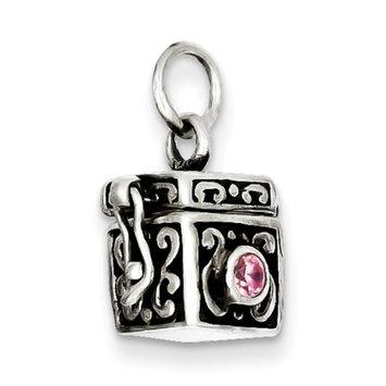 Cellini, Inc goldia Sterling Silver Antiqued Prayer Box Charm