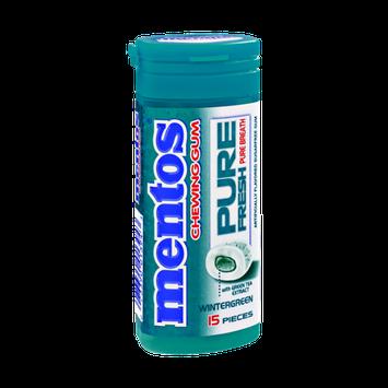 Mentos Pure Fresh Wintergreen Chewing Gum