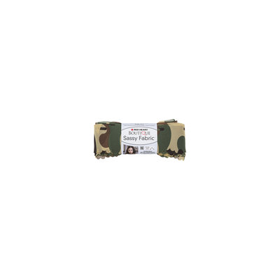 Coats & Clark Inc. Red Heart Boutique Sassy Fabric Yarn-Camouflage