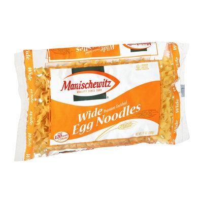 Manischewitz Wide Premium Enriched Egg Noodles