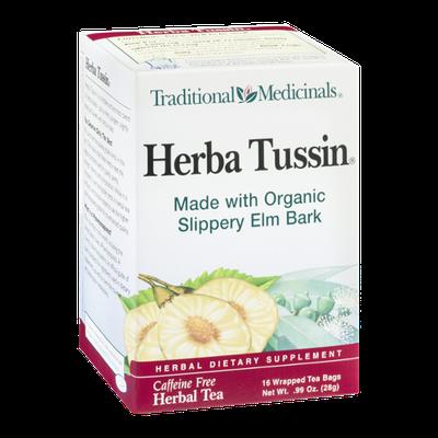 Traditional Medicinals Herbal Tea Herba Tussin Tea Bags - 16 CT