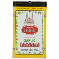 Szeged Garlic Powder in, 6-Ounce Tins (Pack of 6)