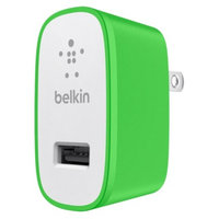 Belkin 2.1A Colored Home Charger - Green (F8J052ttGRN)