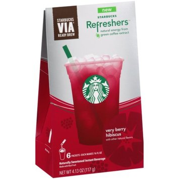 Starbucks Coffee Refreshers Very Berry Hibiscus