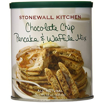 Stonewall Kitchen Chocolate Chip Pancake and Waffle Mix, 16 Ounce Can