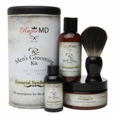 Razor Md Razor MD Rx Shaving Gift Set, Sandalwood, 1 ea