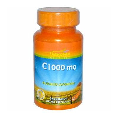 Thompson Nutritional Thompson C Plus Bioflavonoids 1000 mg 60 Capsules