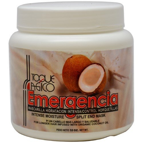 Toque Magico Emergencia U-HC-6519 Intense Moisture Split End Mask - 32 oz - Mask