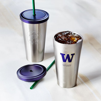 UW Collection Stainless Steel Cold Cup, 16 fl oz Starbucks