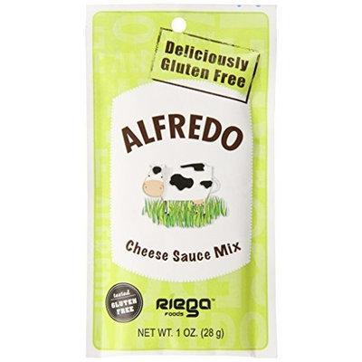 Riega Foods Riego Foods, Alfredo Cheese Sauce Mix, Gluten Free, All Natural, 1-Ounce Packets (Pack of 12)