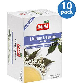 Badia Linden Leaves Tea Bags