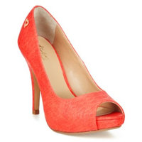 black heels Cereza Peep-Toe Pumps, Only at Macy's