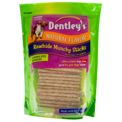 Dentley's Rawhide Munchy Sticks Dog Treats