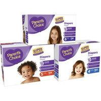 Parent's Choice Super Value Box Diapers, (Choose Your Size)