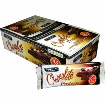 HealthSmart Chocolite Bar Cookies and Cream Case of 16 34 Grams
