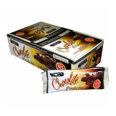 HealthSmart Chocolite Bar Cookies and Cream Case of 16 34 Grams