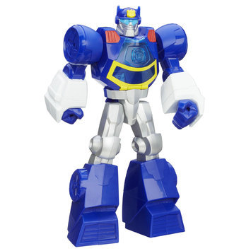 Playskool Transformers Rescue Bots Chase the Police Bot Figure - HASBRO, INC.