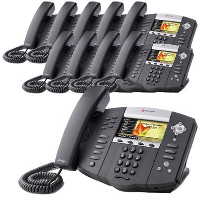 Polycom 2200-12670-001-10 SoundPoint IP 670 6-Line IP Phone w/ AC