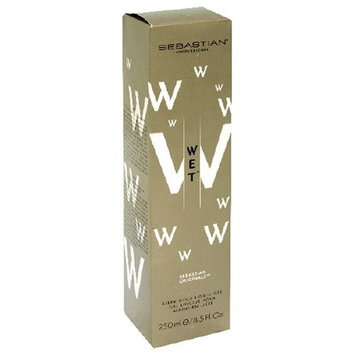 Sebastian Professional Wet, Sleek Hold Liquid Gel, 8.5 fl oz (250 ml) (Pack of 2)