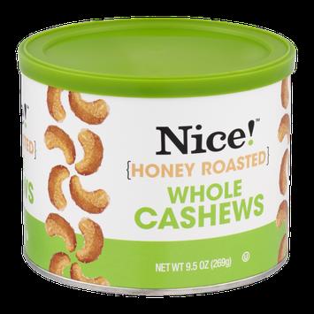 Nice! Cashews Whole Honey Roasted