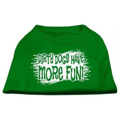 Ahi Dirty Dogs Screen Print Shirt Emerald Green XS (8)