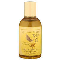 Common Sense Farm Baby Oil 3.4 oz.