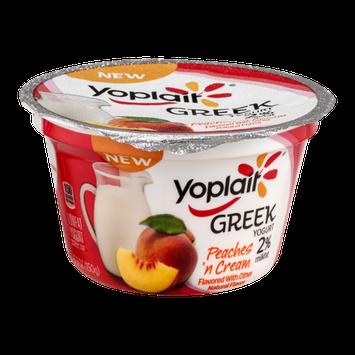 Yoplait® Greek Yogurt 2% Milkfat Peaches 'n Cream