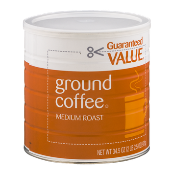 Guaranteed Value Ground Coffee Medium Roast