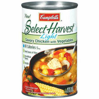 Campbell's Select Harvest Savory Chicken w/Vegetables Light Soup