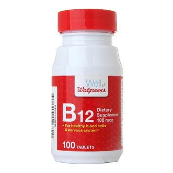 Walgreens Vitamin B-12 100 mcg