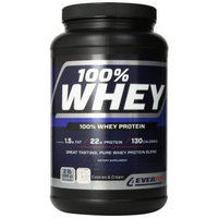 4Ever Fit 4EverWhey Protein, Cookies and Cream, 1.8 Pounds