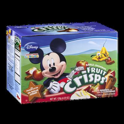 Brothers-All-Natural Disney Apple Cinnamon Fruit Crisps - 12 CT