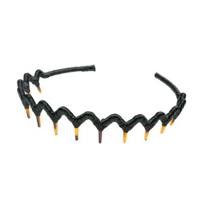 Goody 1Ct Black Zigzag Headband