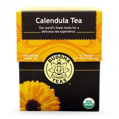 Buddha Teas Calendula Flower 100 Percent Organic Herbal Tea 18 Bags Per Packet
