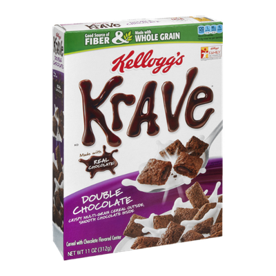 Kellogg's Cereal Krave Double Chocolate