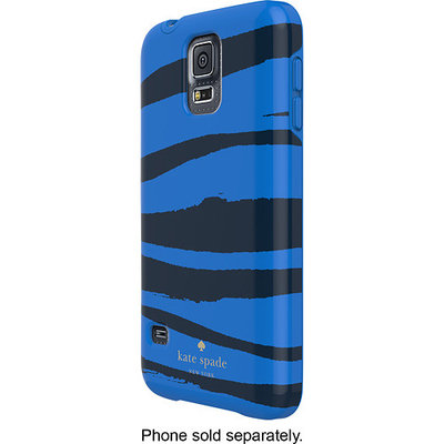 kate spade new york - Hybrid Hard Shell Case for Samsung Galaxy S 5 Cell Phones - Navy