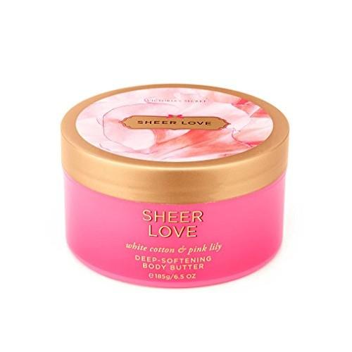 Victoria's Secret Deep Softening Body Butter, 6.5 Oz, Sheer Love