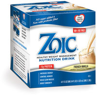 Zoic Nutritional Drink-French Vanilla 24 pack