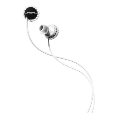 Sol Republic Relays Headphones Black/White, 3-Button Mic