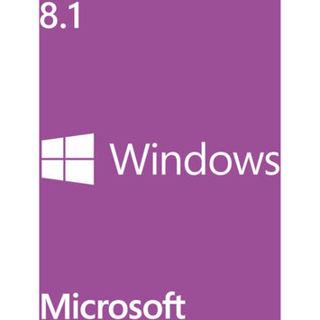 Microsoft Windows 8.1 Pro 32-Bit Software, 1pk