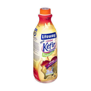 Lifeway Kefir Lowfat Probiotic Mango Cultured Milk Smoothie