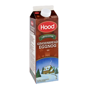 Hood Limited Edition Gingerbread Eggnog